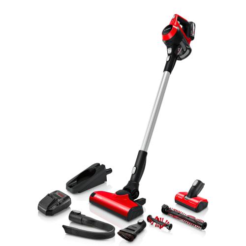 Bosch ledningsfri støvsuger - Unlimited Serie 6 ProAnimal - Rød
