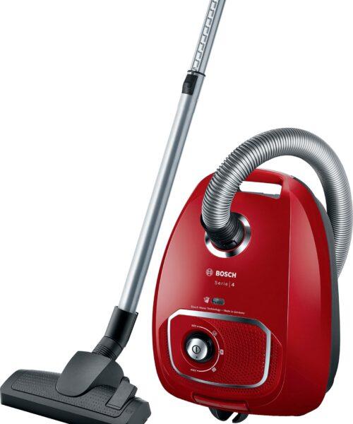 Bosch Series 4 støvsuger BGLS4X380 (rød)