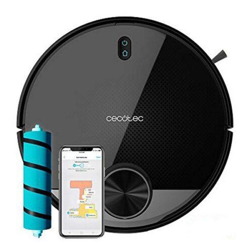 Cecotec Robotstøvsuger Med Moppe - Conga 3390 - Wifi - Sort