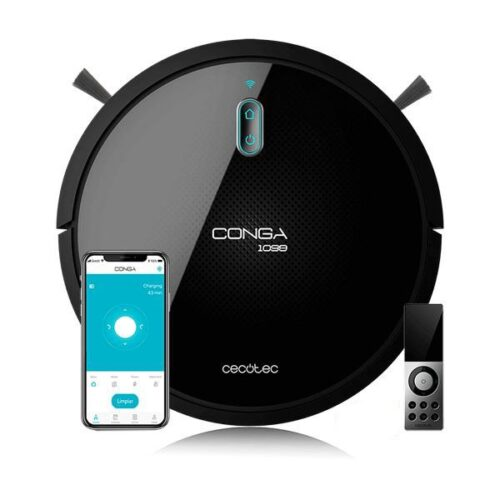 Cecotec - Smart Robotstøvsuger Med Wifi - Conga 1099 Connected - Sort