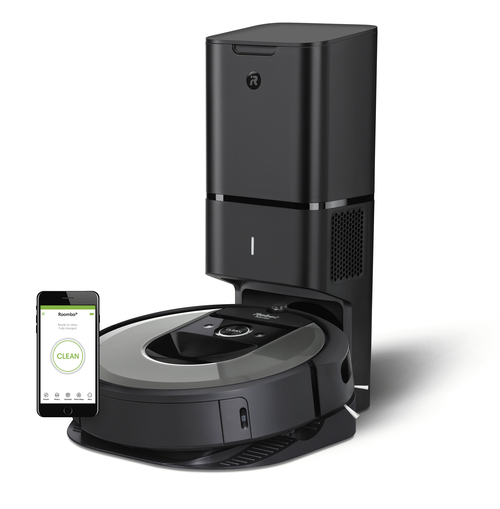 Irobot Roomba I7550+ Robotstøvsuger - Sort